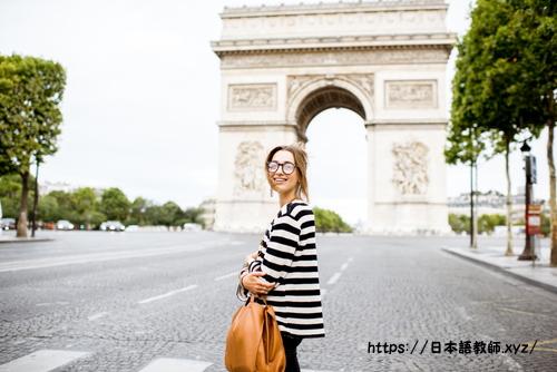 日本語を勉強中のフランス人