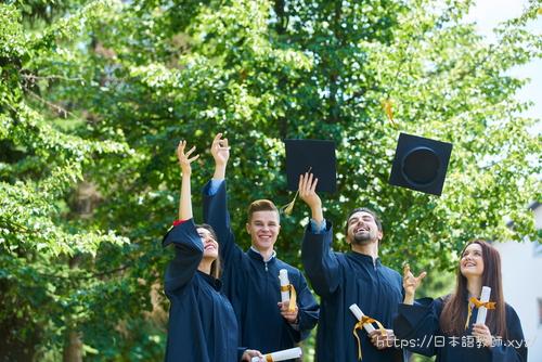 大学で日本語教師の資格を取得した学生